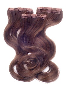 c0900 - Gisela Mayer Clip in: HBT  Set deluxe Wavy,