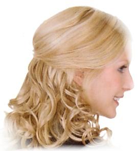 n2058 - Gisela Mayer Clip in: Light HBT curly
