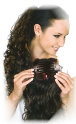 a6060 - Gisela Mayer Haarteil: Layered Comb Curly