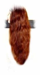 est5 - Kunsthaarteil, Halbperücke mit Haarband, irre lang, Haarlänge ca 65cm